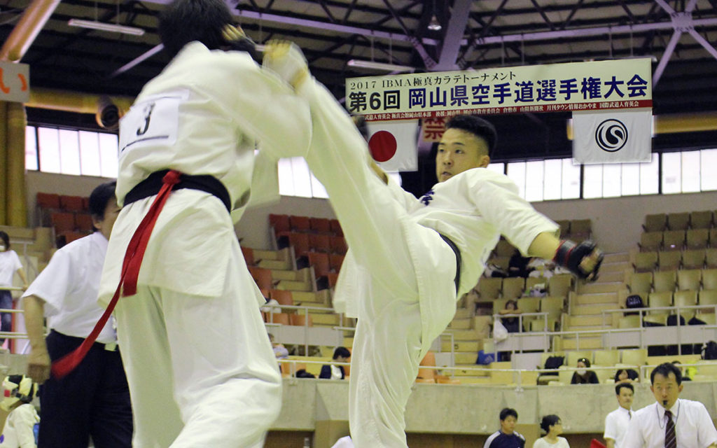 岡山県大会(組手)